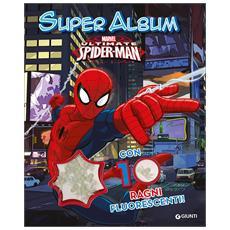 Spider-Man - Super Album Con 10 Ragni Fluorescenti
