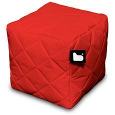 Pouf Outdoor B-box Red Trapuntato