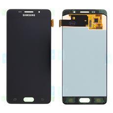 Lcd Touch Screen E Vetro Completo Nero Per Galaxy A5 2016 A510