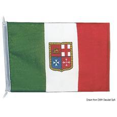 Bandiera poliestere Italia 30 x 45 cm