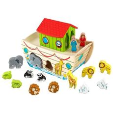 Legno Noah's Ark Shape Sorter 27x16x21 (9/2014) 63244