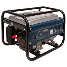 Generatore Di Corrente 2000W 6,5Hp - Raffreddamento Aria Forzata - Carburante Benzina Verde