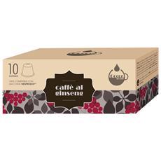 GOCCE DI CAFFE - Ginseng - 10 Capsule Compatibili Con Tutte Le...