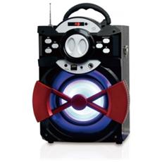 Speaker Wireless Bluetooth Radio FM Ingresso Mic