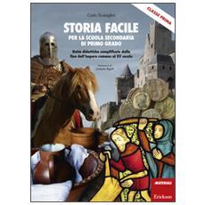 Storia facile per la scuola secondaria di primo grado. Unit� didattiche semplificate dalla fine dell'Impero romano al XV secolo