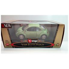 Volkswagen New Beetle 1998 1:24 - Verde