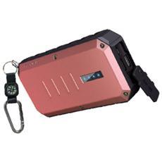 Extreme Spartan, Ioni di Litio, DC, USB, Rosso, Alluminio, Gomma, Smartphone, Tablet, Universale, Micro-USB