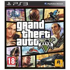 PS3 - Grand Theft Auto V (GTA V - GTA 5)