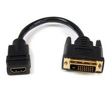 Adattatore cavo video HDMI® a DVI-D da 20 cm - HDMI femmina a DVI maschio