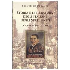 Storia e letteratura degli italiani negli Stati Uniti. La scena di Little Italy