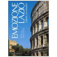 Emozione Lazio. Ediz. italiana e inglese