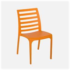 Sedia Riga In Colore Orange