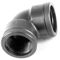 """F 1"""" X F 1"""" - Gomito 90° Filettato - Curva Raccordo Per Tubo Irrigazione"""