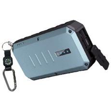 Extreme Spartan, Ioni di Litio, DC, USB, Blu, Alluminio, Gomma, Smartphone, Tablet, Universale, Micro-USB