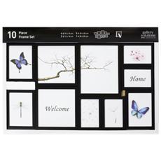 Nielsen 10 Piece Frame Set black Plastic Mobile Rack 8999176