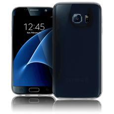 Inv Cover Ultra Sottile 0,2 mm in Morbido TPU per Galaxy S7 Edge Colore Trasparente