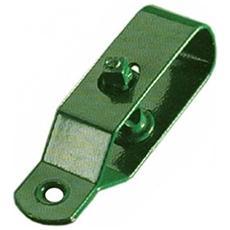 Tirafilo A Cricchetto Plastificato Verde