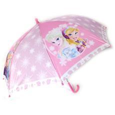 bambino ombrello 'frozen - ' rosa (46 cm - 84 cm di diametro) - [ n5566]