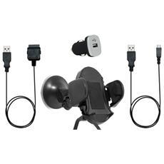 PACKVOITUREUNIV Auto Passive holder Nero supporto per personal communication