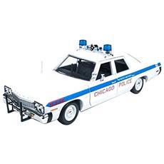 Amm987 Dodge Monaco Chicago Police 1974 1:18 Modellino