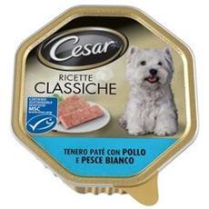 Cane, Pate' Pollo E Pesce Bianco Gr 150