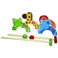 0713005 Set Croquet Per Bambini