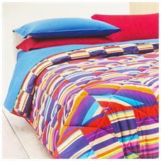 Trapunta Letto Singolo 1 Piazza Future Multicolor