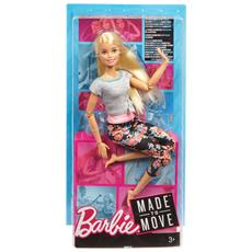 FTG81 Barbie - Made to Move - Capelli Lisci