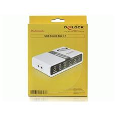 USB Sound Box 7.1, 7.1, 0 dBi, USB, 48 kHz