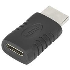 HDMI - Mini HDMI HDMI Mini HDMI Nero cavo di interfaccia e adattatore