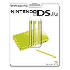 NDS - Set 3 Pennini Stylus Pen - Colore Verde per DS Lite