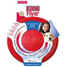 Modello Flyer in gomma resistente per cani a forma di frisbee perfetto per il riporto