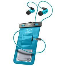 Custodia Impermeabile Con Ingresso Jack 3,5 Mm Per Smartphone Fino A 5,5'' Ipx8