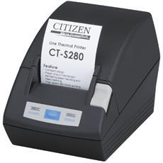 CT-S280, POS, Termica diretta, 18,9 lps, 65 - 75 µm, 5,75 cm, Cablato