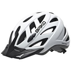 Casco ciclismo unisex in-moulding technology CITY bianco 013599 Taglia M