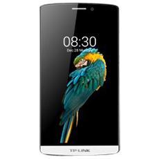 "Neffos C5 Max Bianco 16 GB 4G/LTE Dual Sim Display 5.5"" Full HD Slot Micro SD Fotocamera 13 Mpx Android Italia"