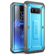 Cover Per Samsung Galaxy S8 Plus (2017) - [ unicorn Beetle Pro Series] Guscio Protettivo Ad Incastro Per Una Protezione Totale (azzurro)