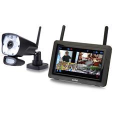 SWITEL - HSIP6000 Set Videosorveglianza HD IP 2,4GHz con...