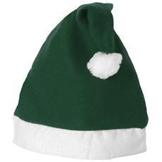 Cappello Di Babbo Natale (38 X 17 Cm) (verde / bianco)