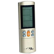 42530, IR Wireless, Argento, Aria condizionata, Premi i pulsanti, LCD, Blu
