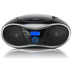 Interactive CD 58 NMP 3 USB Digitale 8W Nero radio CD