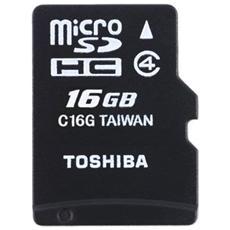 MicroSDHC 16 GB High Speed Standard Class 4