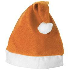 Cappello Di Babbo Natale (38 X 17 Cm) (arancione / bianco)