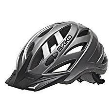 Casco ciclismo unisex in-moulding technology CITY silver 013599 Taglia M