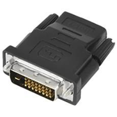 DVI-D - HDMI DVI-D HDMI Nero cavo di interfaccia e adattatore