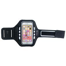 """Sport Armband LED 5.5'' 5.5"""" Fascia da braccio Nero"""