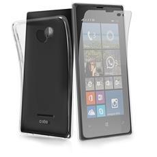 Cover Aero In Tpu Nero Nokia Lumia 532 + Screen