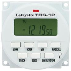 Timer Settimanale 12V Con Display Lcd Tds-12