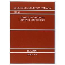Lingue in contatto­Contact linguistics