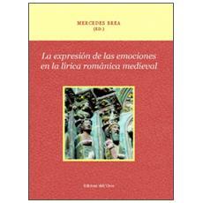 La expresión de las emociones en la lírica románica medieval